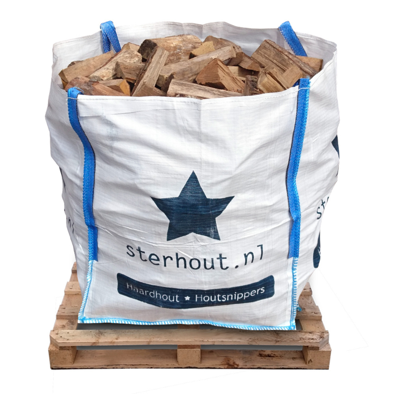 Stookmix haardhout in big bag 1 kuub