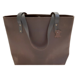 Madriez Portland Leren Shopper - Bruin - Grazy Horse Leather