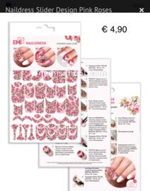 Naildress Pink Roses