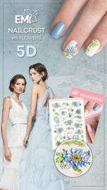 Nailcrust 5D #8 Flowers/ Bloemen
