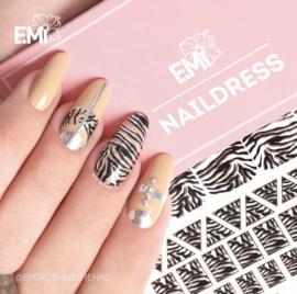 Naildress #14 Zebra