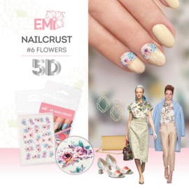 Nailcrust 5D #6 Flowers
