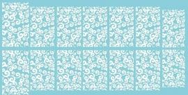 witte smalle krullen 110
