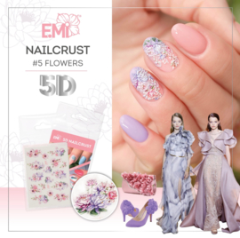 Nailcrust 5D #5 Flowers