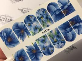 Blauwe bloem 1-352