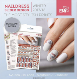 Naildress Norwegian Pattern