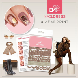 Naildress #12 E.Mi Print