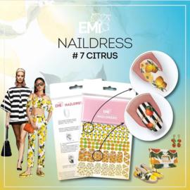 Naildress #7  Citrus