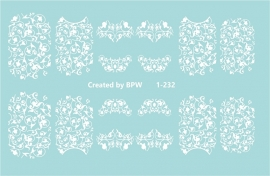 witte ornament 1-232