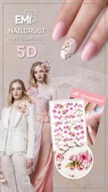 Nailcrust 5D #9 Flowers/ Bloemen