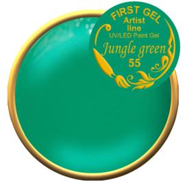 Jungle green 55, 5g. Zonder plaklaag