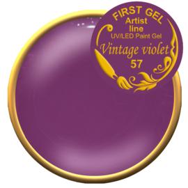 Vintage Violet 57, 5g. Zonder plaklaag