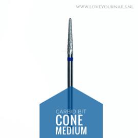 Hardmetale carbid C-curve bit, blauw