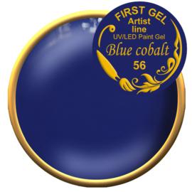 Blue cobalt 56, 5g. Zonder plaklaag