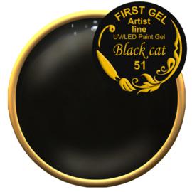 Black Cat-51 5g. Zonder plaklaag