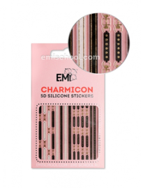 Charmicon 3D Silicone Stickers #90 Belts