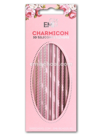 Charmicon 3D Silicone Stickers Lace MIX #1