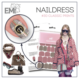 Naildress Slider Design #30 Classic Prints
