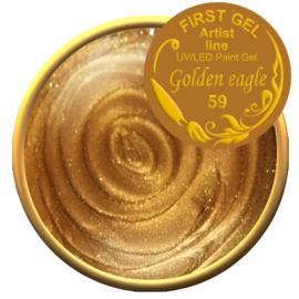 Golden Eagle 59, 5g. Zonder plaklaag