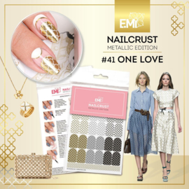 Nailcrust  METALLIC #41 One Love
