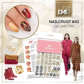 Nailcrust #43 Geometry METALLIC