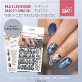 Naildress Japanese chrysanthemum