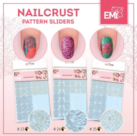 NAILCRUST #23 #24 #25 Gold/Beige/White/Black