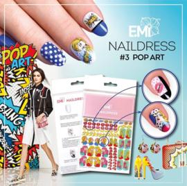 Naildress # 3 pop art