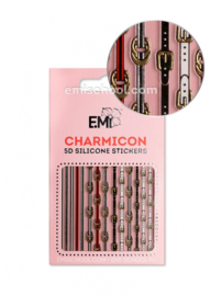 Charmicon 3D Silicone Stickers #92 Belts