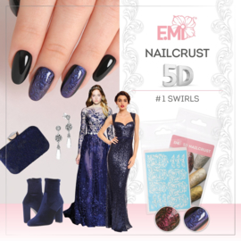 Nailcrust 5D #1 Swirls