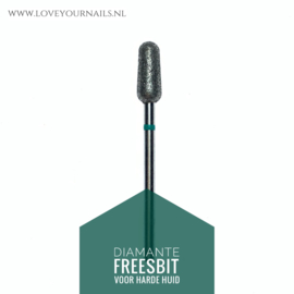 Diamant freesbit  - Afgeronde cilinder (torpedo), Grof