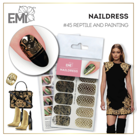 Naildress Slider Design #45 Reptile and Painting