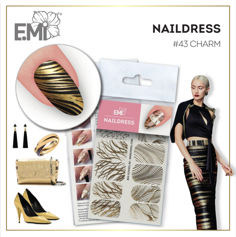 Naildress Slider Design #43 Charm