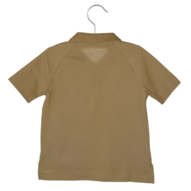LITTLE HEDONIST_SHORT SLEEVE POLO MAX ANTIQUE BRONZE