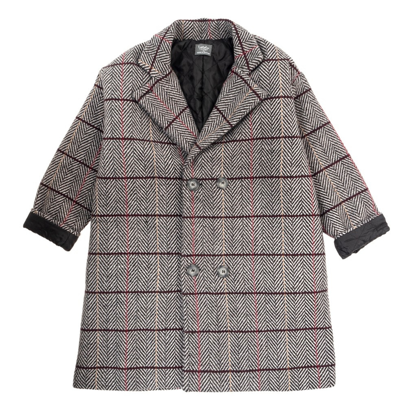 TOCOTO COAT_ KID COAT QUILTED LINING