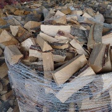 Haardhout mix van houtsoorten (beuk, eik, berk, esdoorn, es, acacia)