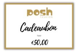 CADEAUBON t.w.v €50,00