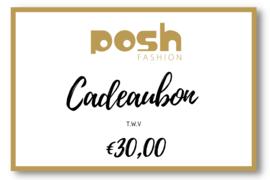 CADEAUBON t.w.v €30,00
