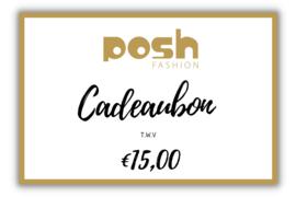 CADEAUBON t.w.v €15,00