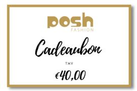 CADEAUBON t.w.v €40,00
