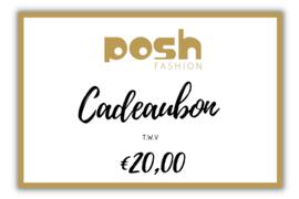 CADEAUBON t.w.v €20,00