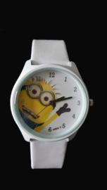 Kinder Horloge Minion wit