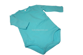 Baby luierpakje blauw met lange mouw