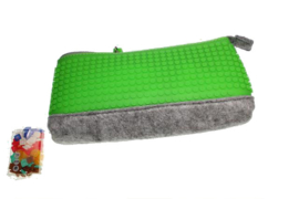 Pixel bag etui groen