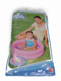 Baby opblaas zwembadje roze
