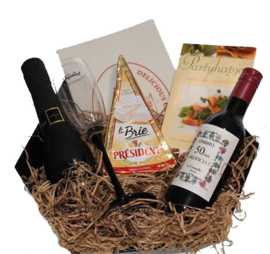Freixenet wijn en kaas cadeaupakket