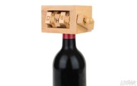 Wijnpuzzel hout
