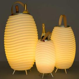 Kooduu Wine cooler met Blue tooth speaker en LED verlichting SMALL