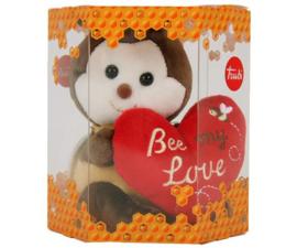 "Knuffel Bij  ""Bee My Valentine"""