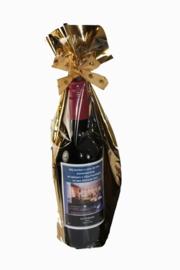 klein wijnflesje Merlot met Logo